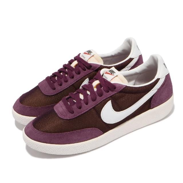 【NIKE 耐吉】休閒鞋 Killshot SP 運動 男鞋 海外限定 基本款 舒適 簡約 麂皮 穿搭 紫 白(DC1982-600)