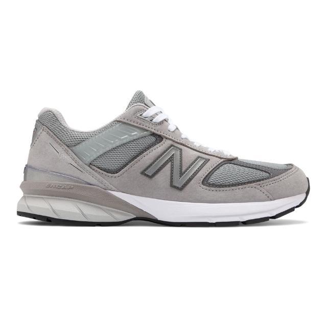 【NEW BALANCE】NB 英美製 復古 休閒鞋 M990GL5 男鞋 灰色(M990GL5)