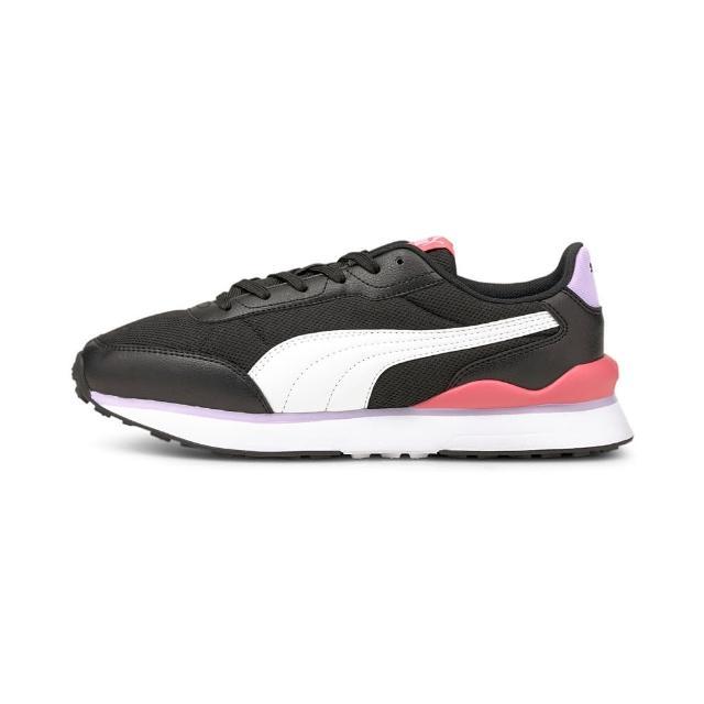 【PUMA】休閒鞋 女鞋 運動 健身 慢跑 Puma R78 FUTR Decon 黑白粉 37489606