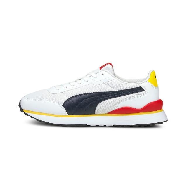 【PUMA】休閒鞋 男鞋 女鞋 運動 健身 慢跑 Puma R78 FUTR Decon 白粉 37489607