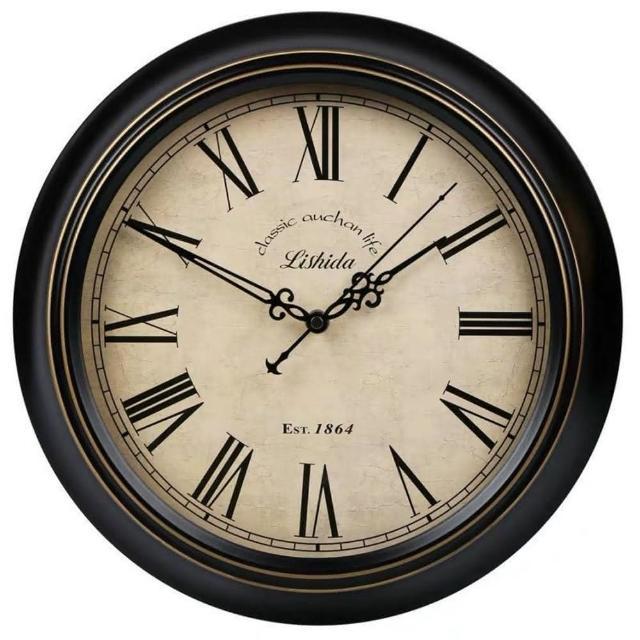 【媽媽咪呀】職人手作頂級古典掛鐘-歐洲研發台灣製機芯(白公館的鐘)