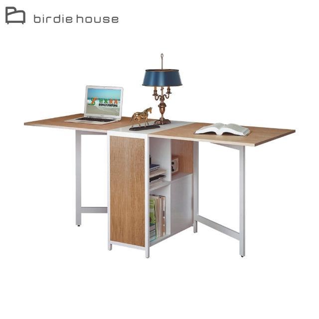 【柏蒂家居】沙恩1尺功能書桌/工作桌/收納置物櫃