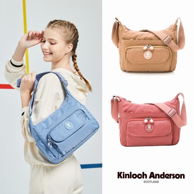【Kinloch Anderson】FRANCIS 大容量斜側包(多色任選)