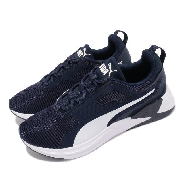 【PUMA】訓練鞋 Disperse XT 男鞋 健身 重訓 多功能訓練鞋 運動 藍 白(19372804)
