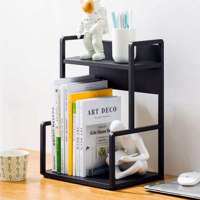 【HappyLife】H型桌面置物架 兩層30cm Y10171(#桌上整理架 #檯面整理架 #花架 #廚房收納架 #書架)