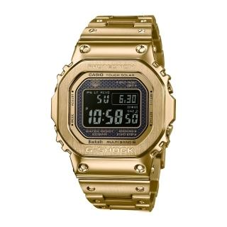 【CASIO 卡西歐】CASIO 卡西歐  G-SHOCK電波藍牙電子錶GMW-B5000GD-9(金)