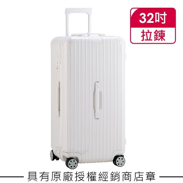 【Rimowa】Essential Trunk Plus 大型運動行李箱 亮白色(832.80.66.4)