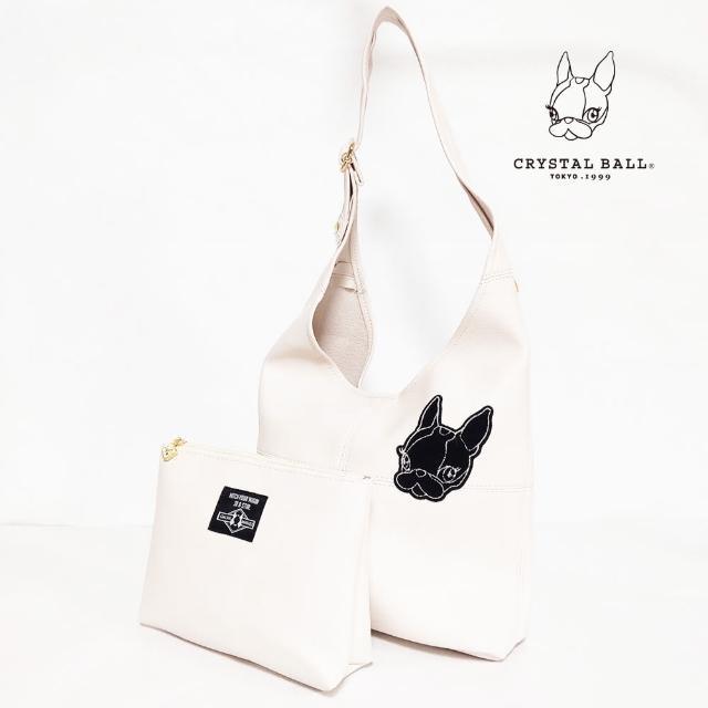 【CRYSTAL BALL 狗頭包】Hippie wappen Bag and Pouch時尚包(狗頭包)