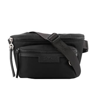 【LONGCHAMP】M號 LE PLIAGE NEO 尼龍腰包(黑色)