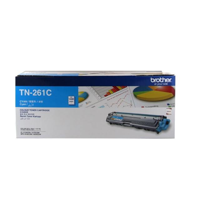 【brother】TN-261C 原廠藍色碳粉匣