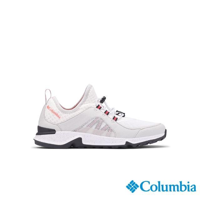 【Columbia 哥倫比亞】女款- 輕量多功能健走鞋-白色(UBL00880WT / 輕量.運動.健走)