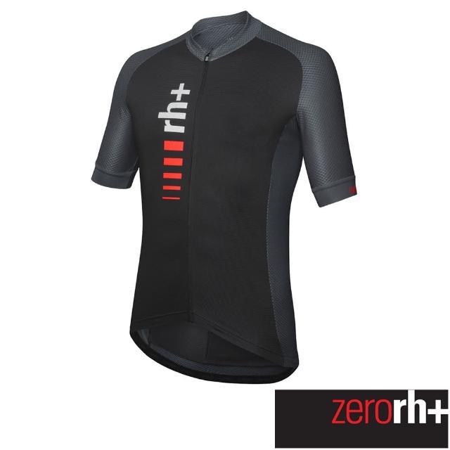 【ZeroRH+】義大利PRIMO系列男仕專業自行車衣(黑色 ECU0751_577)