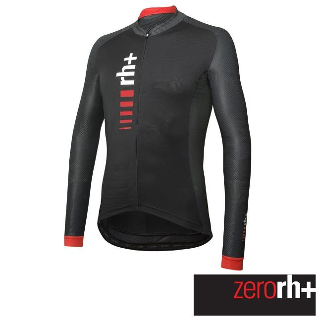 【ZeroRH+】義大利PRIMO系列男仕專業自行車衣(黑色 ECU0752_515)