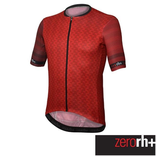 【ZeroRH+】義大利LAB系列男仕專業自行車衣(紅色 ECU0755_30Z)