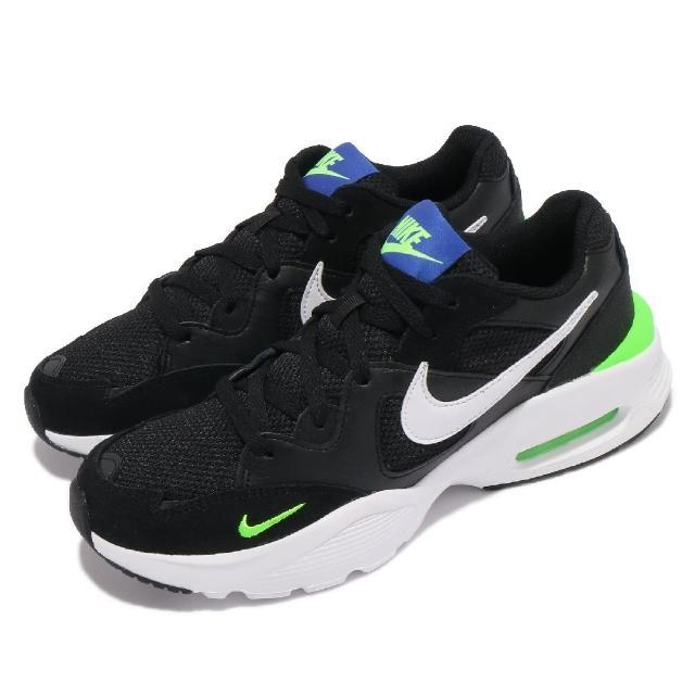 【NIKE 耐吉】休閒鞋 Air Max Fusion 運動 男鞋 海外限定 復古 簡約 氣墊 避震 穿搭 黑 白(CJ1670-010)