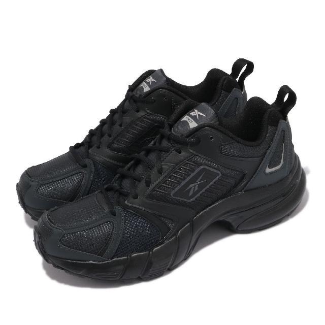 【REEBOK】慢跑鞋 RBK Premier 運動 男鞋 海外限定 復古 舒適 避震 簡約 球鞋 穿搭 黑(FV7988)