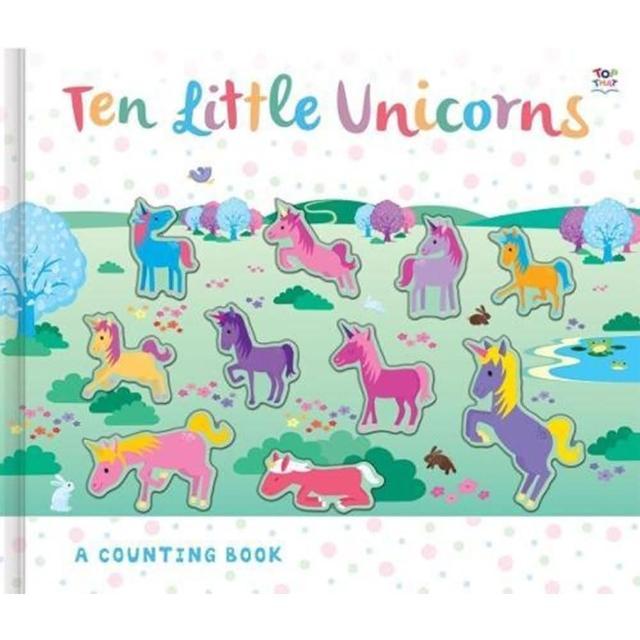 【Song Baby】Ten Little Unicorns A Counting Book 十隻獨角獸(數數學習書)