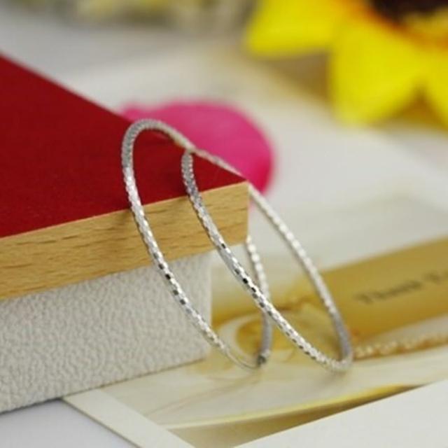 【米蘭精品】925純銀耳環耳飾(簡約流行時尚首選情人節生日禮物女飾品73dm94)