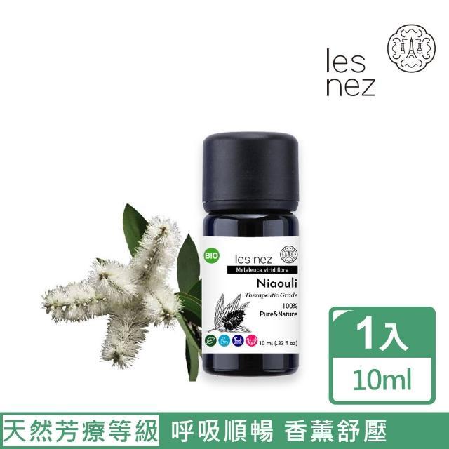【Les nez 香鼻子】天然單方綠花白千層純精油 10ML(天然芳療等級)