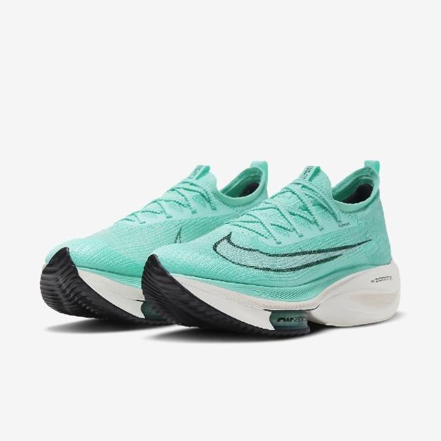 【NIKE 耐吉】慢跑鞋 Zoom Alphafly Next% 男鞋 氣墊 舒適 避震 包覆 運動 路跑 球鞋 綠 白(CI9925-300)