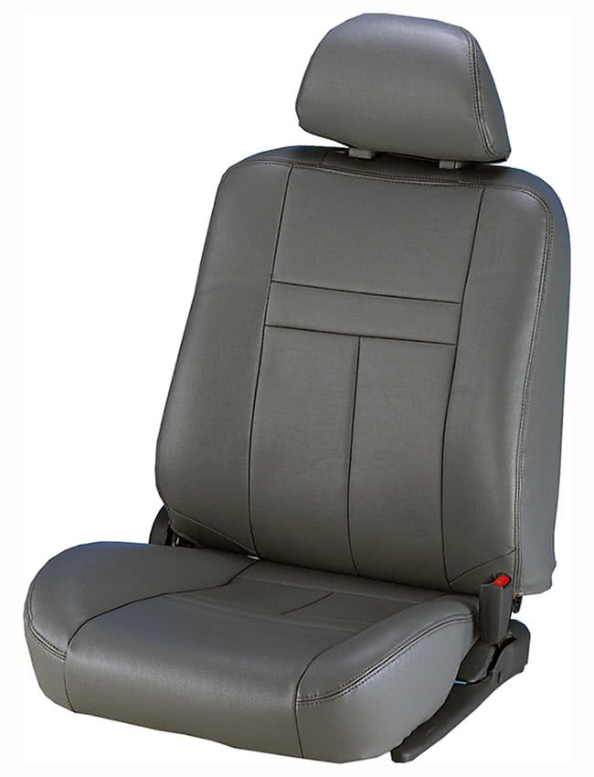 【葵花】量身訂做-汽車椅套-合成皮-尊貴型-單色(轎車款第1+2排)