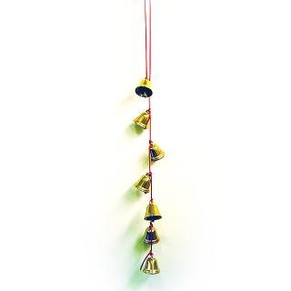 【開運陶源】催財銅鐘/銅鈴 7個銅製風鈴吊飾