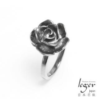 【leger日本羽鈦】古典玫瑰 純鈦戒指