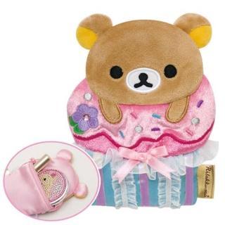 San-X 懶熊午茶系列造型零錢包-懶熊