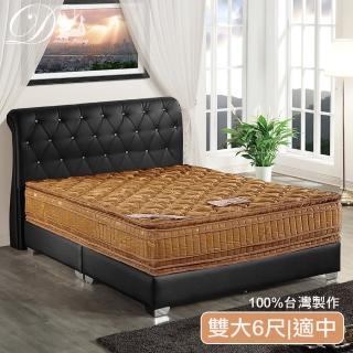 【睡夢精靈】羅馬假期金鑽六線6尺獨立筒床墊