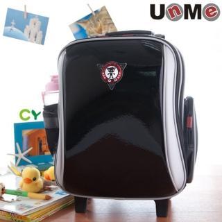 【UnMe】高年級拉桿後背兩用書包(鏡黑)
