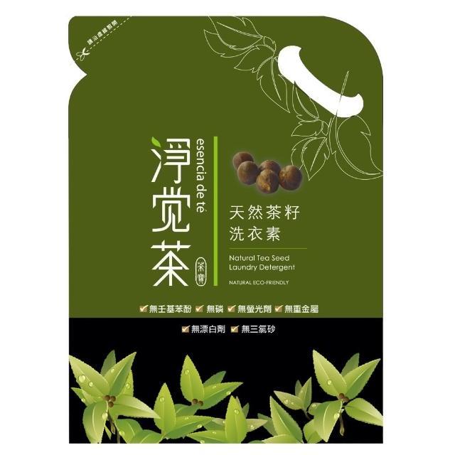 【淨覺茶】茶籽洗衣素補充包(1.8kgx12包)/