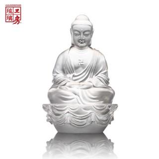 【琉璃工房 LIULI】釋迦牟尼佛(適合收藏 搬家 退休  生日 節日贈禮)