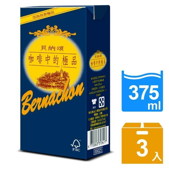 【貝納頌】咖啡調味乳375ml(3入/組)