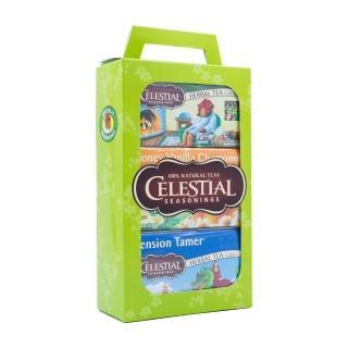 【Celestial 詩尚草本】美國原裝進口 經典禮盒組(3盒/60環保包)