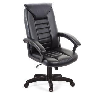【GXG】高背典雅 皮椅 電腦椅 TW-1032(黑色)