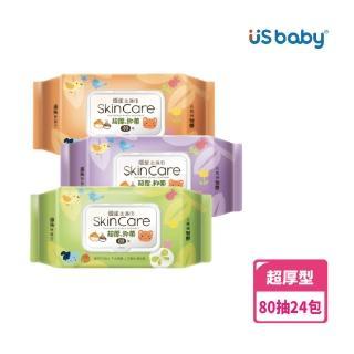 【優生】超厚型柔濕巾(80抽24入)