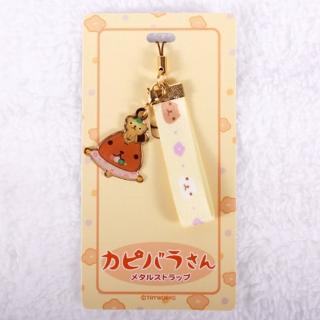 【Kapibarasan 】水豚君和風系列緞帶手機吊飾(水豚君)