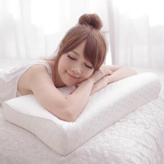 【eyah宜雅】E世代45顆獨立筒工學記憶枕(12CM)
