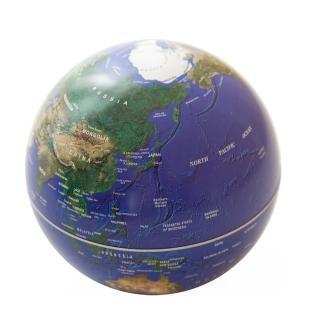 【Mr.sci 賽先生科學】自轉地球儀(地球藍)