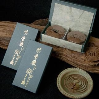 【法藏沉香】惠安沉香-香嚴2小時盤香(1盒入)