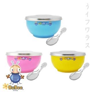 豆豆316雙層隔熱碗-不銹鋼蓋-11.5cm-3組入(#316)