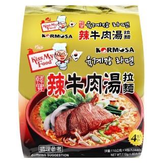 【Paldo】辣牛肉湯麵(440g)