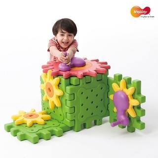 【Weplay】齒輪探索積木(STEAM玩具)