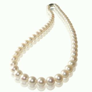 【小樂珠寶】3A頂級7-7.5mm AKOYA日本海水珠項鍊(出貨以實際顏色為主7-7.5mm)