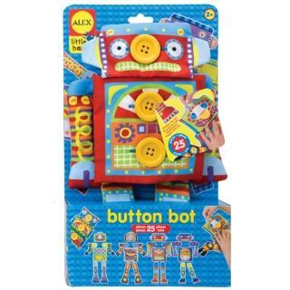 【美國ALEX】鈕釦玩偶換裝秀(機器人)