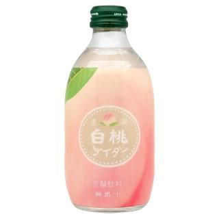 【友桀】豐潤白桃蘇打(300ml)