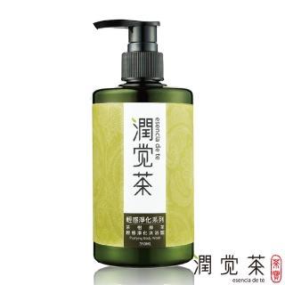 【茶寶 潤覺茶】茶樹綠茶輕感淨化沐浴露(350ml)