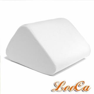 【LooCa】吸濕排汗萬用三角靠墊(灰)