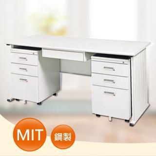 【時尚屋】THA150淺灰色辦公桌櫃組(UA8-S386-4)