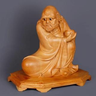 【荒木雕塑藝品】達摩祖師(1.3尺)